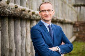 Burmistrz Pruszcza Gdańskiego Janusz Wróbel